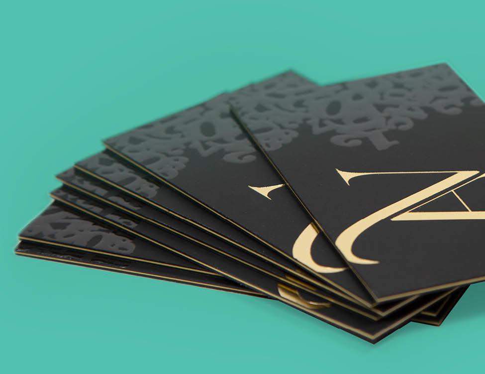 Цифровая печать визитных карточек в Москве