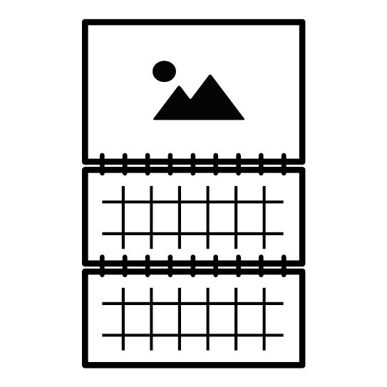 Ежеквартальные календари «миди»