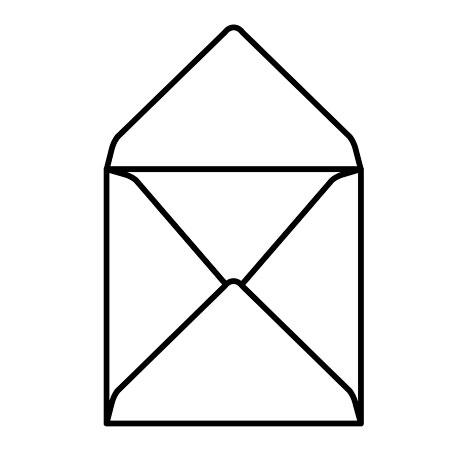 Квадратные конверты