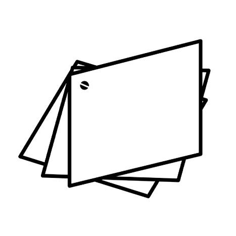 Брошюры на одном болте «веер»