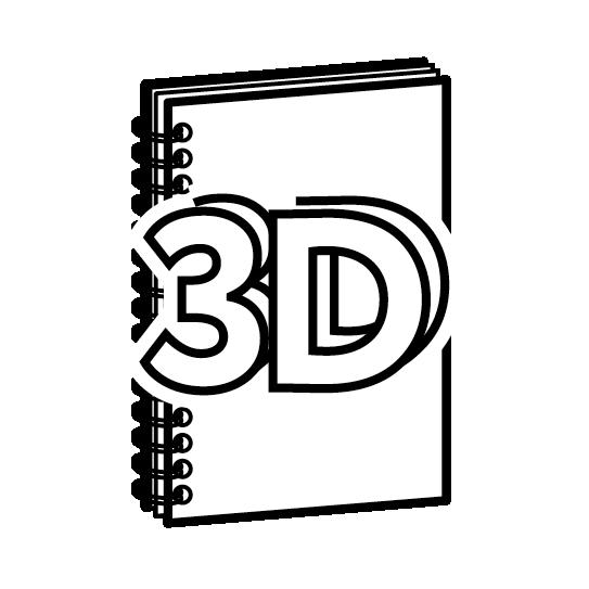 Брошюры на пружине с 3D-отделкой обложки