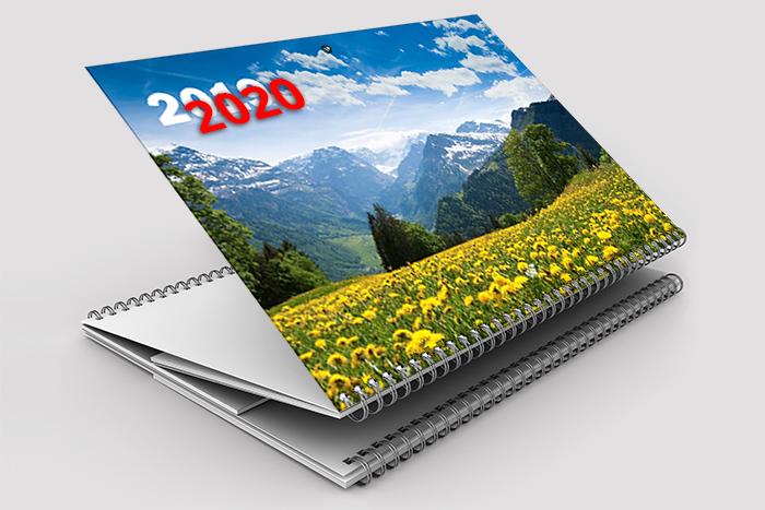 Квартальные календари Стандарт (ширина блока 297 мм)
