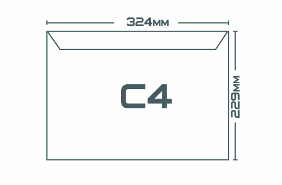 Конверты C4 (229 х 324 мм)