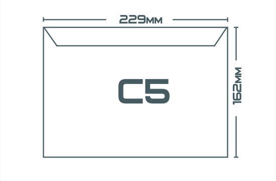 Конверты C5 (162 х 229 мм)