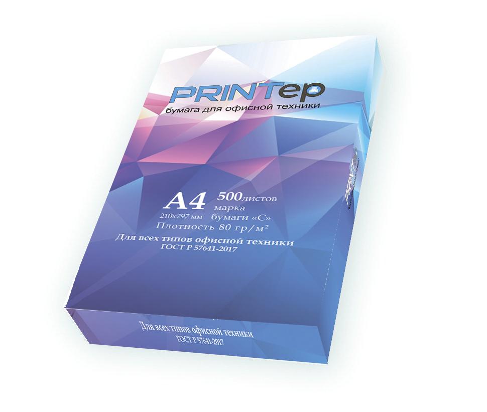 Бумага PRINTep (А4, 80 Г, 146%CIE)