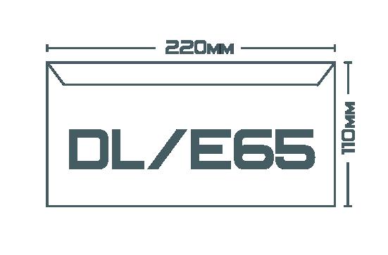 Конверты DL/E65 (220 х 110 мм)
